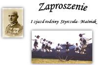 Zaproszenie na zjazd rodziny Maśniaków