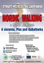 Otwarte Mistrzostwa Zakopanego w Nordic Walking o Puchar Burmistrza Zakopanego