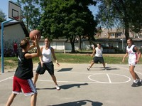 Streetball na Szaflarskiej