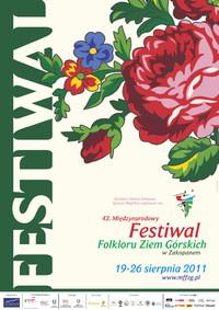 Zapraszamy na 43. Międzynarodowy Festiwal Folkloru Ziem Górskich