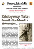 Zdobywcy Tatr: Zaruski – Stanisławski – Birkenmajer – Żuławski...
