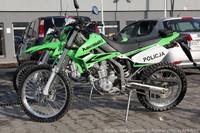 Motocykle terenowe dla nowotarskiej policji
