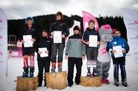 Andrzej Bachleda Curuś Jr. w towarzystwie zwycięzców TAURON Energy Ski Cup - fot. Tomek Gola