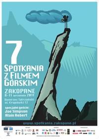 plakat 7 spotkań z Filmem Górskim Zakopane 2011