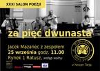 XXXI Salon poezji - Jacek Mazanec z zespołem