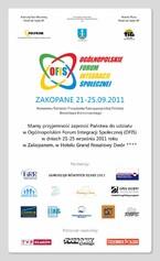 Ogólnopolskie Forum Integracji Społecznej