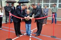 Nowe boisko i plac zabaw na Harendzie