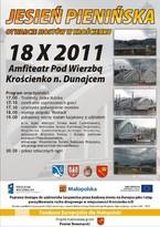Jesień Pienińska - Otwarcie Mostów w Krościenku