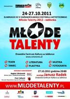 Eliminacje do V Ogólnopolskiego Festiwalu Artystycznego Młode Talenty 2012