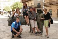 Uczniowie z liceum STO w Hiszpanii