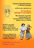 XII Konkurs Młodyk Toniecników