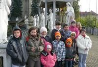 Wycieczka dzieci romskich