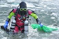 Podwodne porządki w Morskim Oku
