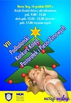 VII Podhalański Konkurs Kolęd Pastorałek i Pieśni Zimowych