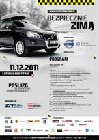 """Akcja """"Bezpiecznie zimą"""" - promocja bezpieczeństwa i warsztaty jazdy po zimowej drodze"""