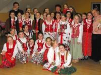 Zdjecie chóru w Szodliget 11 grudnia 2011 r.