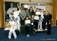Sukces nowotarskich karateków w Niepołomicach