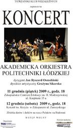 Koncert Akademickiej Orkiestry Politechniki Łódzkiej