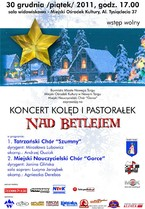 "Koncert Kolęd i Pastorałek ""Nad Betlejem"""