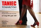 Taniec Towarzyski - kurs I i II stopnia