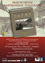 Przedwojenne Tatry, Zakopane i Podhale - promocja książki