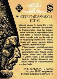 Zaproszenie do Dworca Tatrzańskiego