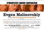 """Evgen Malinovskiy - recital """"Wieczór rosyjskich bardów"""""""