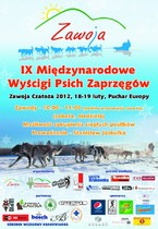 IX Międzynarodowe Wyścigi Psich Zaprzęgów w Zawoi