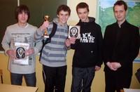 Udział krościeńskich szachistów w Turnieju o Puchar Wójta Gminy Łącko