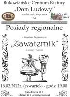 """Posiady regionalne z zespołem """"Zawaternik"""""""