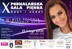 X Podhalańska Gala Piękna, Mody i Urody
