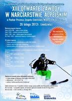 Zawody w narciarstwie alpejskim o Puchar Prezesa ZEW Niedzica S.A.