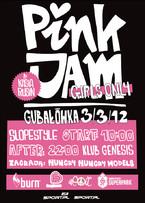 Snowboardowo-freeskiingowy Pink Jam