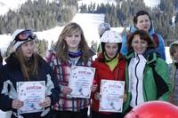 Zawody w Slalomie Gigancie Szkół Tischnerowskich