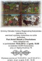 Malarstwa na szkle Anieli Stanek z Chochołowa