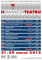 II Maraton Teatru