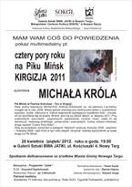 Cztery pory roku na Piku Mińsk - Kirgizja 2011