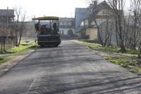Przebudowa drogi powiatowej z Rogoźnika przez Stare Bystre
