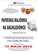 Papieska Majówka na Bachledówce