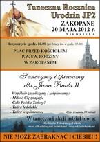Taneczna Rocznica Urodzin Jana Pawła II