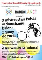 X Mistrzostwa Polski w Dmuchaniu Balona z Gumy do Żucia