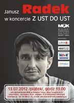 Janusz Radek w koncercie Z UST DO UST