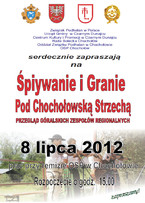 Śpiywanie i Granie Pod Chochołowską Strzechą - Przegląd Góralskich Zespołów Regionalnych