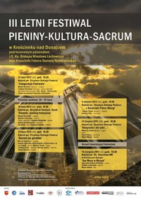 "III Letni Festiwal ""Pieniny-Kultura-Sacrum"""