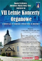 Letnie Koncerty Organowe w Nowym Targu