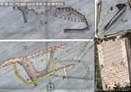 """Plan sztolni """"Ornak"""" z października 1765 r., zbiory MT"""