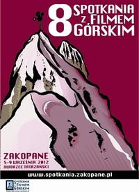 Plakat 8 spotkań z Filmem Górskim Zakopane 2011