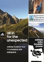 Weekend z adidas outdoor tour w Zakopanem