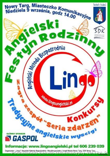Angielski Festyn Rodzinny 9 Września 2012 Zaproszenia Nowy