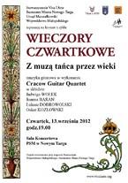 """Kolejny koncert z cyklu """"Wieczory Czwartkowe"""""""